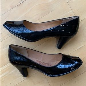 SOFFT Patent Leather Black Heels